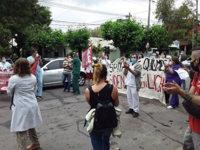 Paro de médicos y caravana por Quilmes