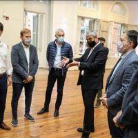 Chornobroff participó del encuentro del ministro Ferraresi con intendentes de la Tercera Sección
