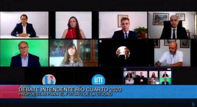 Propuestas, chicanas y cuestionamientos en el debate de los candidatos a intendente