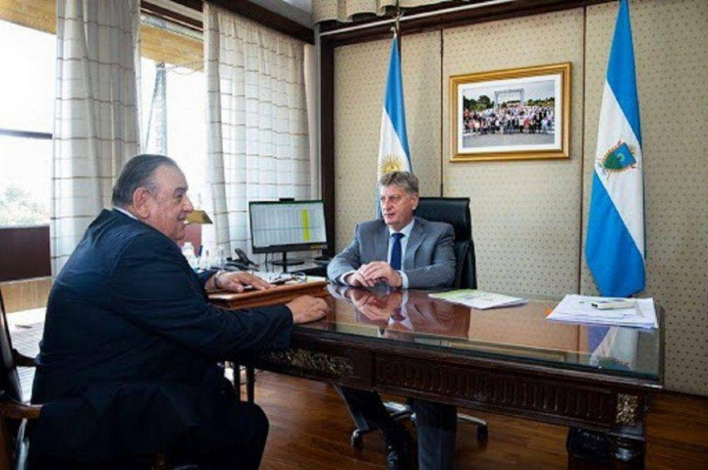 El Gobernador Sergio Ziliotto despidió a Álvarez
