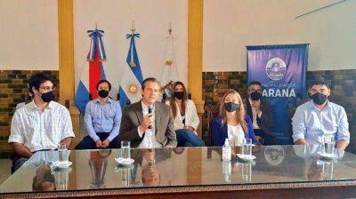 Paraná: Bahl envió el proyecto de emergencia hídrica