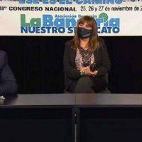 Fernández destacó la participación de mujeres en el gremio Bancarios: «La inclusión me enorgullece mucho»