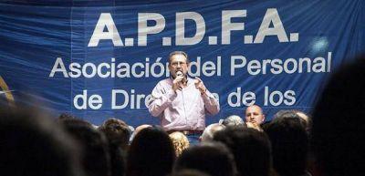 """APDFA ratificó su lucha por los jerárquicos en Belgrano Cargas y Logística y cuestionó """"palos en la rueda"""""""