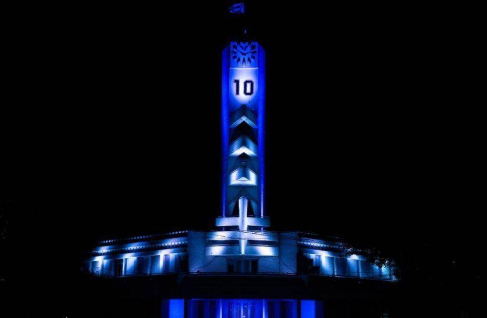 La municipalidad también se puso la 10 del Diego