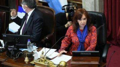 Senado: Cristina Kirchner prorrogó las sesiones virtuales hasta el 1 de marzo