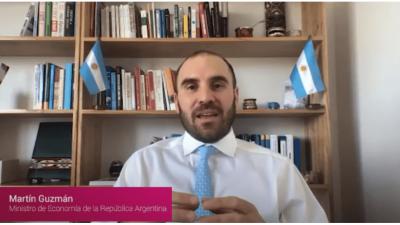 Guzmán ve un proceso de estabilización extenso y realiza un canje para empezar a cerrar el plan financiero 2020