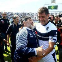 Diego siempre fue feliz en Mar del Plata