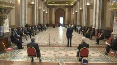 Gesto de fraternidad de los credos argentinos en el Día de la Libertad Religiosa