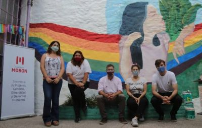 Morón realizó diversas actividades de concientización sobre violencia de género