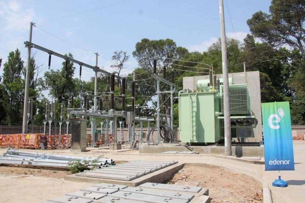 Méndez monitoreo las tareas en la subestación eléctrica