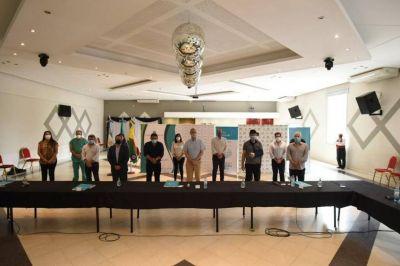 Watson, Medina y Gollan encabezaron la reunión del Consejo Regional de Salud