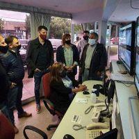 Carrara y Campbell recorrieron la séptima visitando personal de la salud y sectores productivos