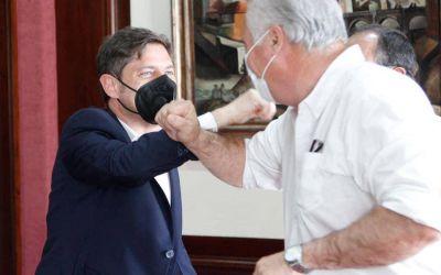 Horna mano a mano con el Gobernador