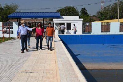 Supervisaron las obras que en Pozo del Tigre ejecuta la Provincia