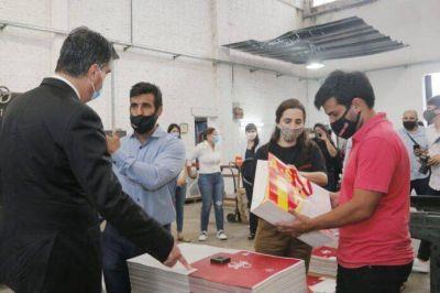 El Gobierno entregó promociones industriales y reintegros de inversiones en el Parque Industrial de Barranqueras