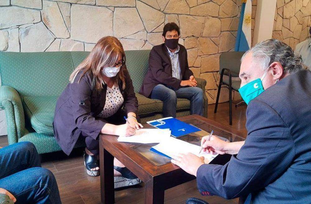 Uthgra firmó un convenio de cooperación con la UNMdP