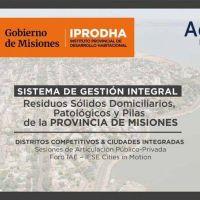 IPRODHA expuso sobre instrumentación del sistema integral de residuos en un foro internacional