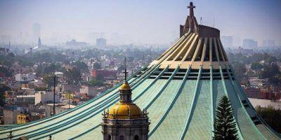 ¿Representa el techo de la Basílica de Guadalupe el manto de la Virgen?