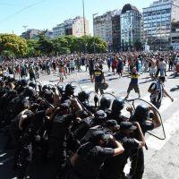 Nación denunció al gobierno porteño por la represión en el velatorio de Maradona
