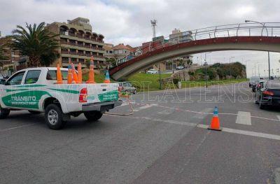 El Municipio corta el tránsito en el Paseo Jesús Galíndez durante el fin de semana