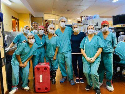 Mar del Plata cumple 10 años de su primer trasplante de órganos