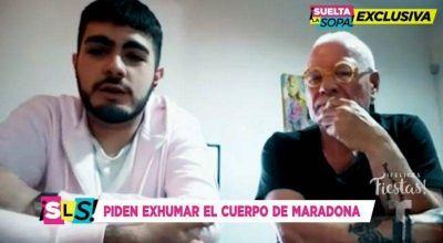 """Un joven platense pide la exhumación del cuerpo del """"Diez"""" para saber si es su hijo"""