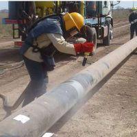 No hay avances: la obra del gasoducto sigue paralizada desde hace más de un año