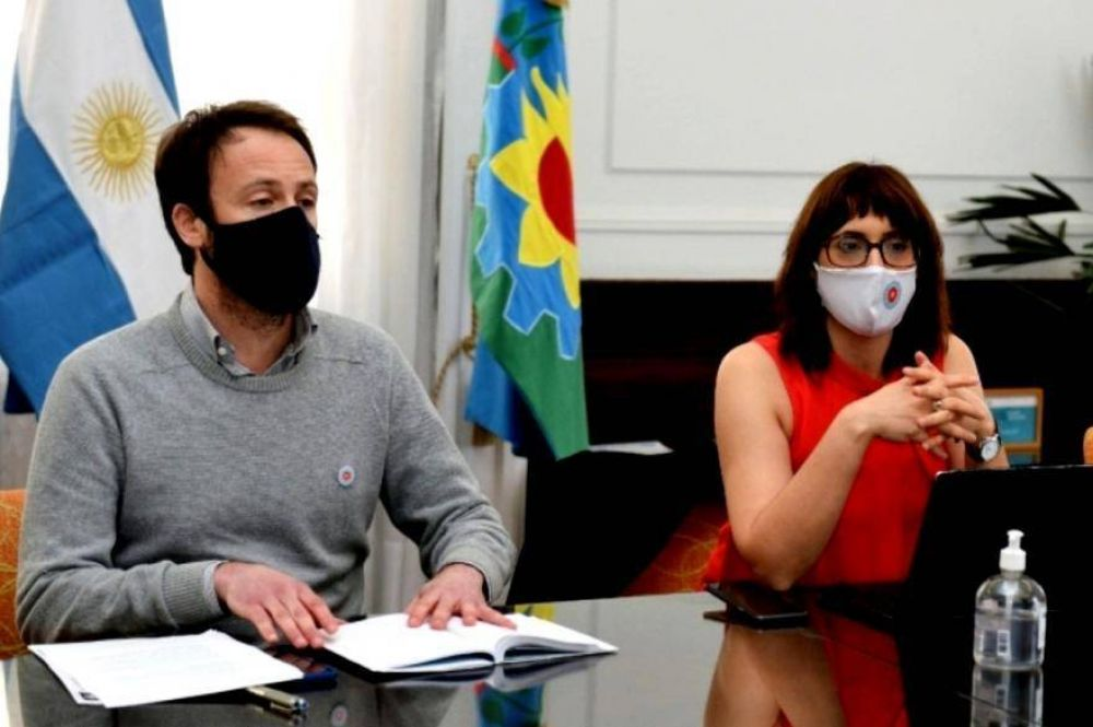 Ruiz Malec y López expusieron a gremios lineamientos del proyecto de Presupuesto 2021