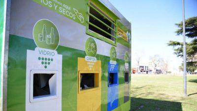 El municipio canjea residuos por plantas
