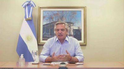 Alberto Fernández festejó el triunfo en Río Cuarto: