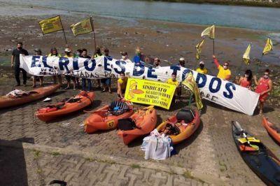 Audiencia histórica: 7000 expositores contra la privatización del río