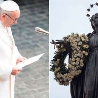 Inmaculada Concepción: Papa Francisco no irá este año a la Plaza España de Roma