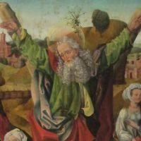 El apóstol san Andrés y su martirio en la cruz diagonal