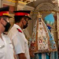 Con la bajada de la Virgen, inician los festejos de la patrona de Catamarca