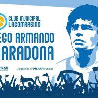 """Achával propuso nombrar """"Diego Armando Maradona"""" al Club Municipal de Lagomarsino"""