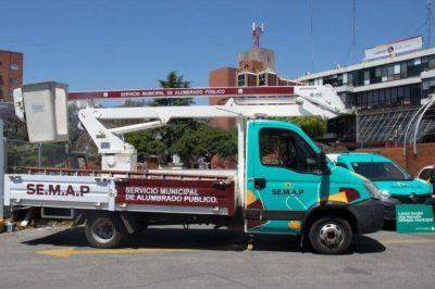 Grindetti presentó el nuevo Servicio Municipal de Alumbrado Público