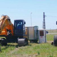Cañuelas: comienzan las obras de la rotonda de ruta 6 y 3
