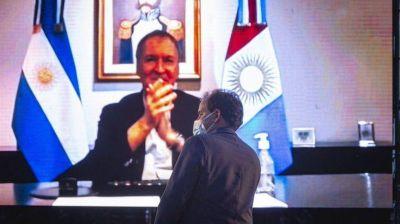 Juan Schiaretti felicitó a Juan Manuel Llamosas y al pueblo de Río Cuarto