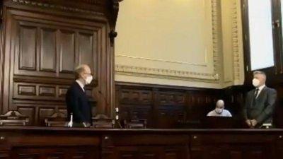 Asumió un abogado cordobés en la Corte Suprema de Justicia