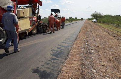 Continúa la repavimentación de Ruta Nacional 60, camino a Córdoba