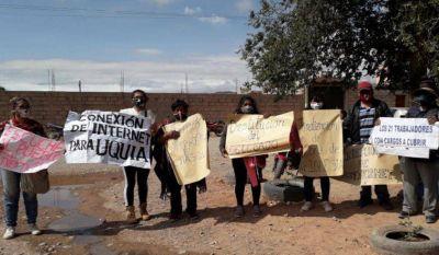 Vecinos de Uquía reclaman conectividad y piden la destitución del delegado municipal