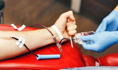 Reiteran la necesidad de poder contar con un mayor stock de sangre