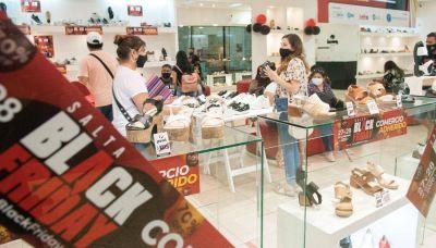 El 77% de los comercios que participaron del Black Friday aumentaron sus ventas en Salta