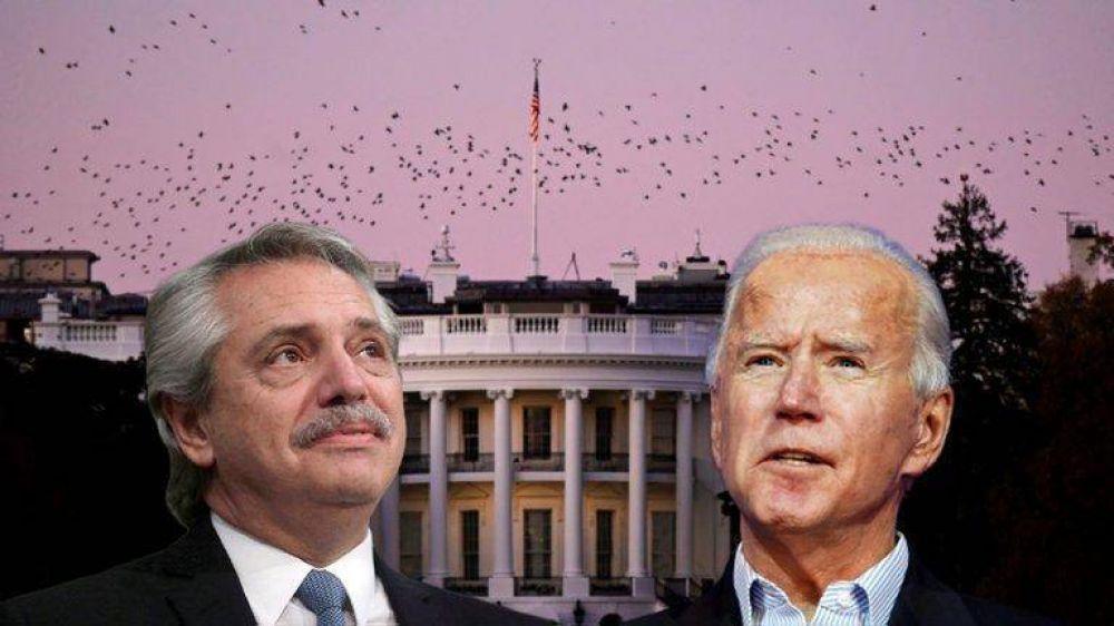 Alberto Fernández dialogó con Joseph Biden para relanzar las relaciones bilaterales con la Casa Blanca