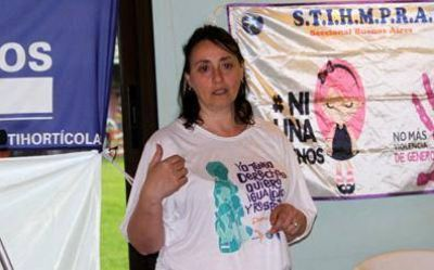 El STIHMPRA realizó un taller sobre violencia de género