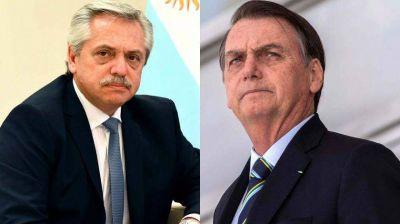 El gasoducto Vaca Muerta-Porto Alegre, en la agenda de Fernández y Bolsonaro