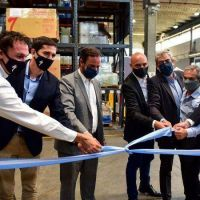 Sujarchuk participó de la inauguración de una planta de ensamble de bicicletas de alta gama