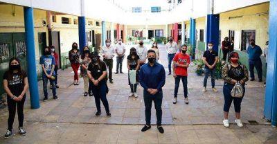 Merlo | Comenzaron las actividades socioeducativas de revinculación en las escuelas