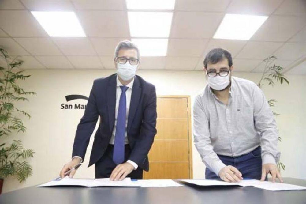Naturgy y la Municipalidad de General San Martín firman convenio para trabajar por la eficiencia energética de las empresas del distrito