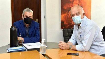 Grindetti y Ferraresi conversaron sobre los planes de vivienda en Lanús